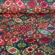 MANDALA mintás lakástextil, dekorvászon