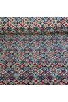 KELIM, mozaik, szőttes mintás lakástextil, dekorvászon