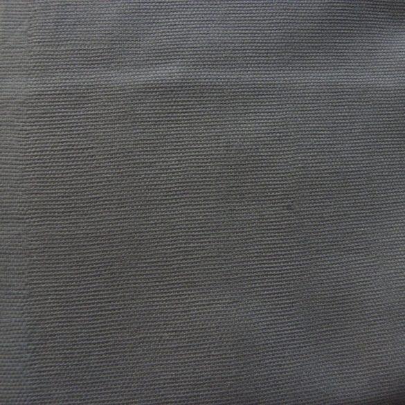 Lakástextil, dekorvászon uni szürke