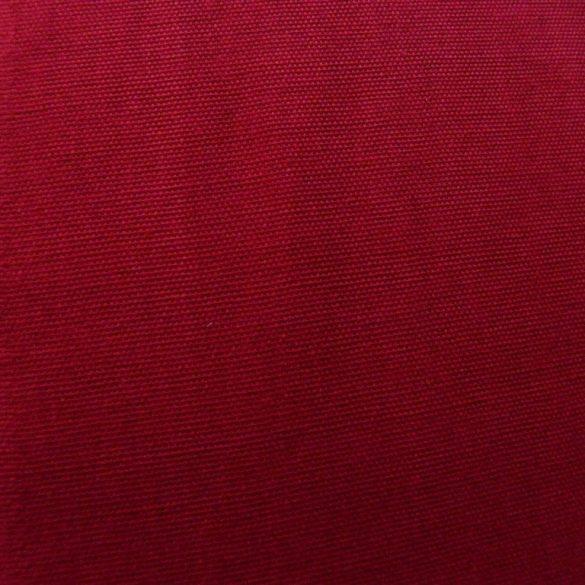 Lakástextil, dekorvászon, uni bordó