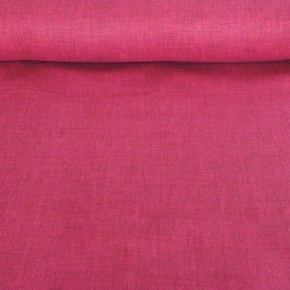 Lakástextil, dekorvászon, raszteres uni fuxia, pink