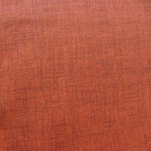Lakástextil, dekorvászon, raszteres uni terrakotta, rozsda