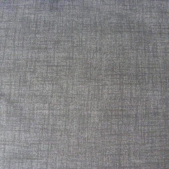 Lakástextil, dekorvászon, raszteres uni szürke