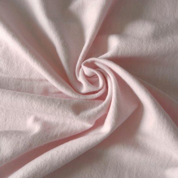 Rózsaszín pamut flanel méteráru