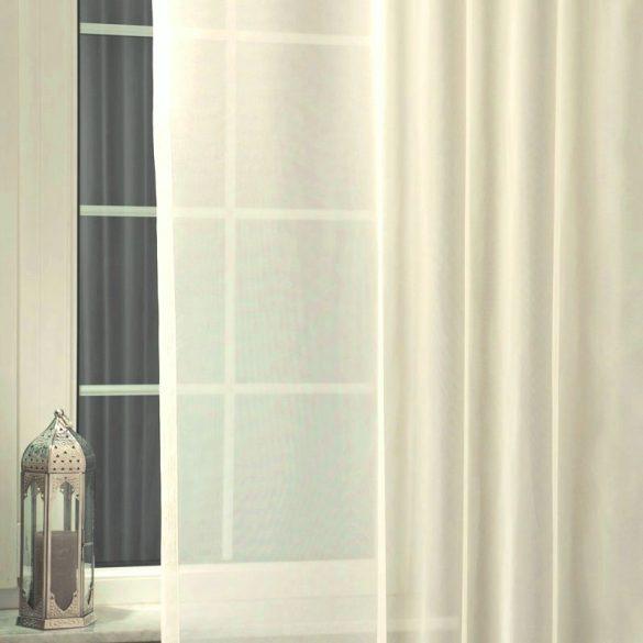 Ecrü voile, fényáteresztő függöny anyag, 180 cm magas