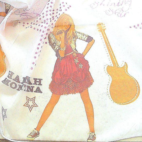 Hannah Montana mintás, voile függöny