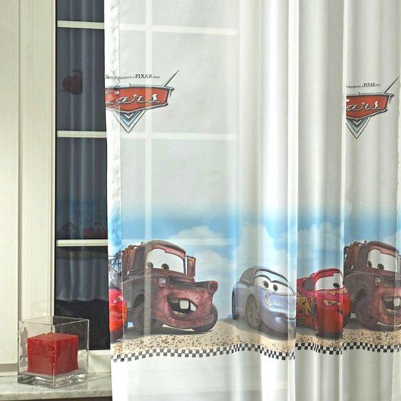 Disney VERDÁK mintás fényáteresztő voile függöny anyag
