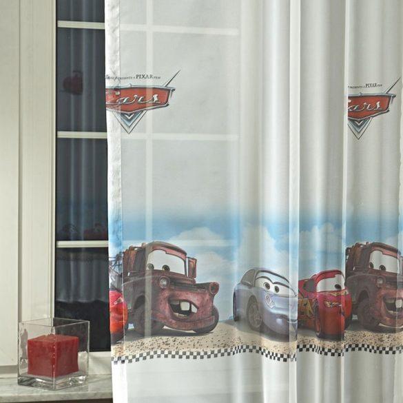 Disney VERDÁK mintás fényáteresztő voile függöny anyag - mardék darab: 0,6 m