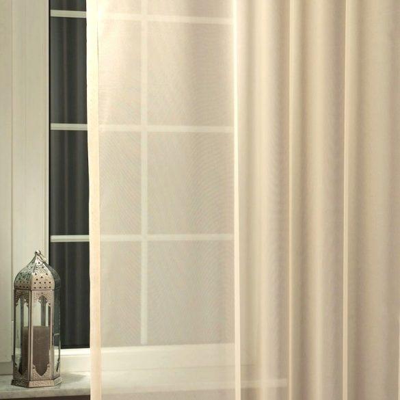 Drapp voile, fényáteresztő függöny anyag, 300 cm magas