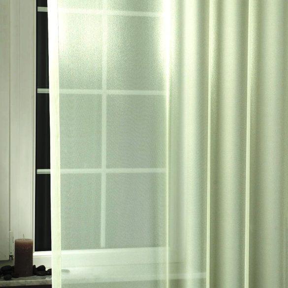 LILIANA, félorganza fényáteresztő függöny anyag - almazöld, 180 cm magas