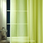 LILIANA, félorganza fényáteresztő függöny anyag - oliva