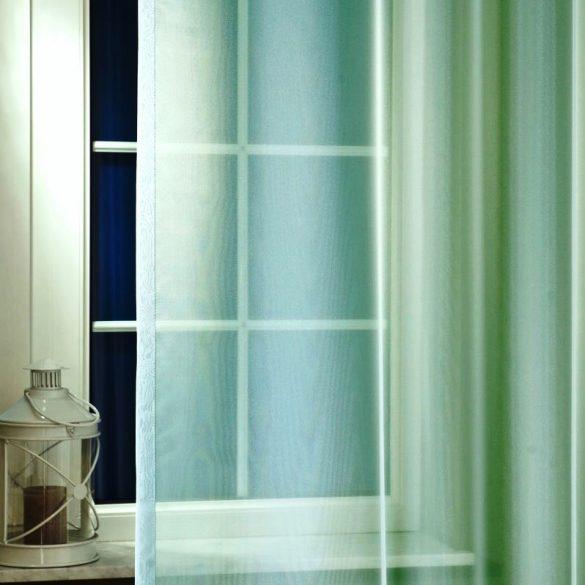LILIANA, félorganza fényáteresztő függöny anyag - türkiz, 300 cm magas