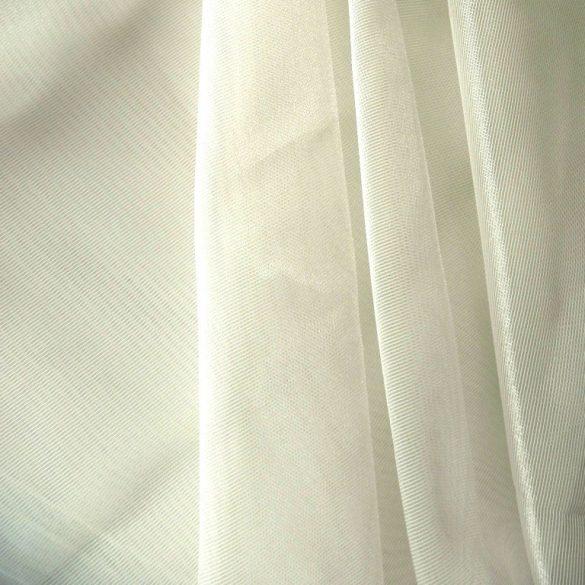 MIRA, dreher organza, fényáteresztő függönyanyag - ekrü - maradék darab: 2,0 m