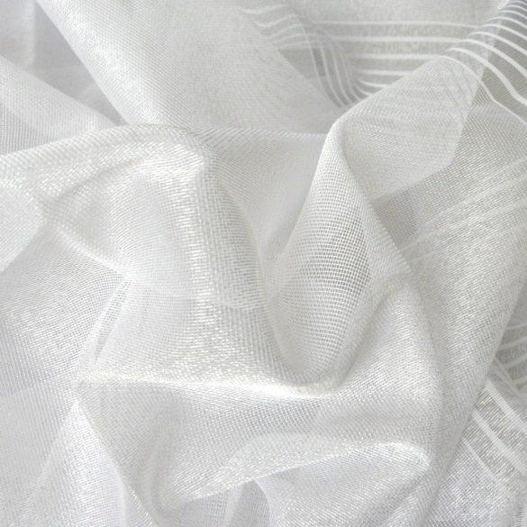 LISBETH, dreher sable fényáteresztő függöny anyag, fehér, 320 cm magas