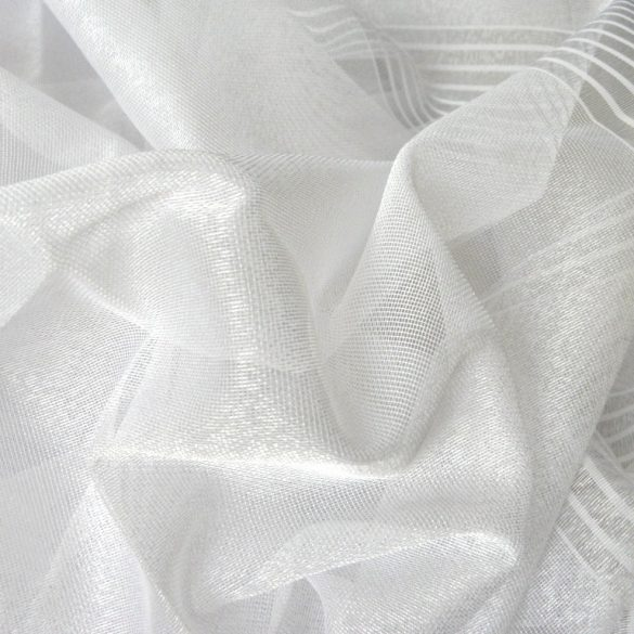 LISBETH, dreher sable fényáteresztő függöny anyag, fehér