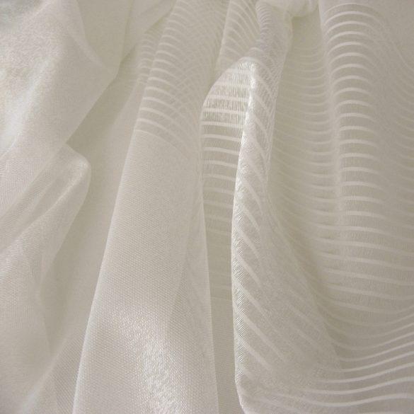 LISBETH, dreher sable fényáteresztő függöny anyag, ekrü, 320 cm magas