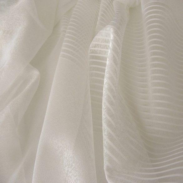 LISBETH, dreher sable fényáteresztő függöny anyag, ekrü, 320 cm magas - maradék darab