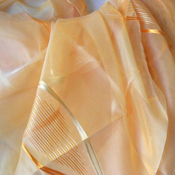 JAFFA, félorganza, nyírt fényáteresztő függöny anyag