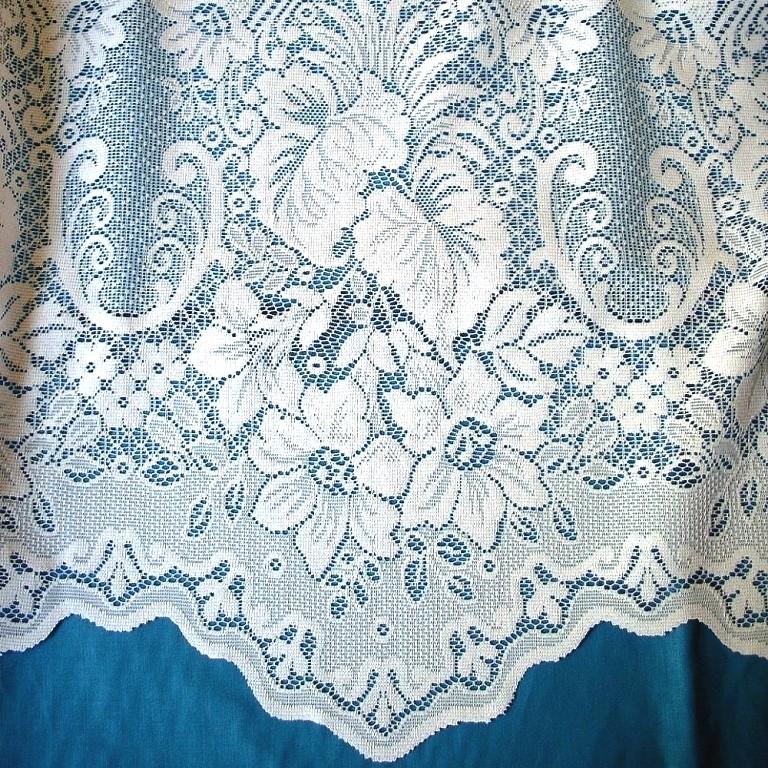 NEWERA taupe, jacquard csipke függöny anyag | Textilpont