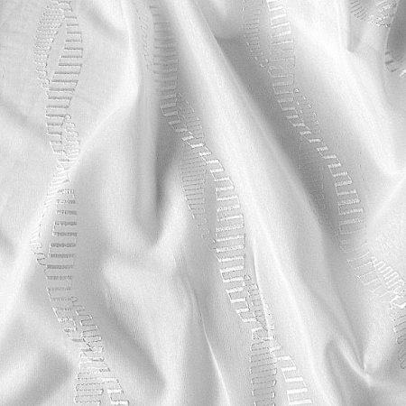 Colorado, fehér, hímzett, sablé függöny anyag