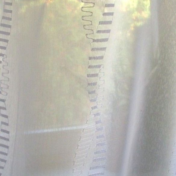 Colorado, hímzett szablé függöny anyag