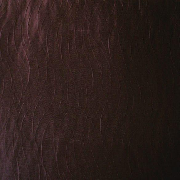 VIOLA, padlizsánlila sötétítő-dekor függöny anyag - maradék darab: 1,8 m