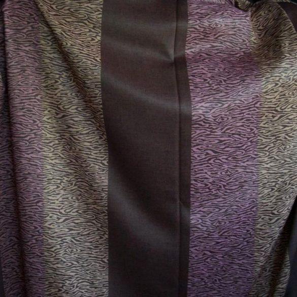 KENYA, kétoldalas dimout sötétítő függöny anyag, maradék darab: 2,4 m