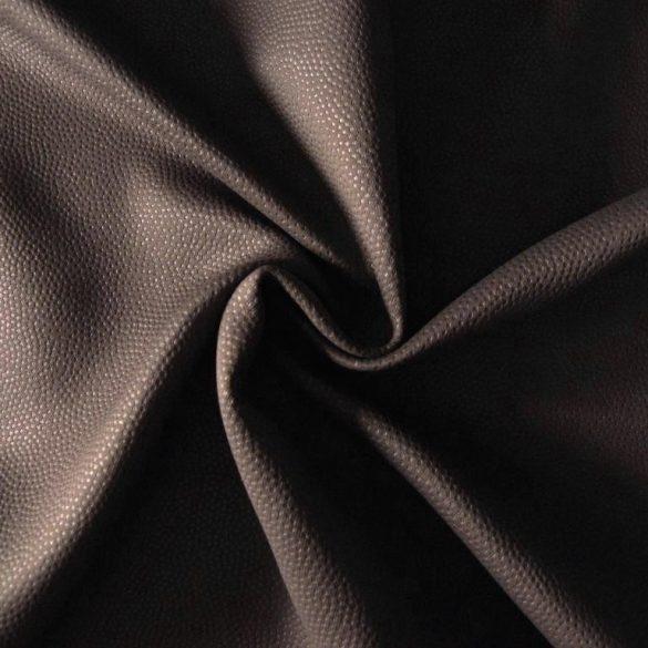 Triton, bőrhatású, kalanderezett dimout függöny, csokoládé