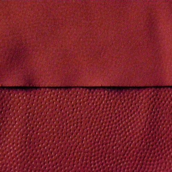 TRITON, bőrhatású, dimout függöny, bordó