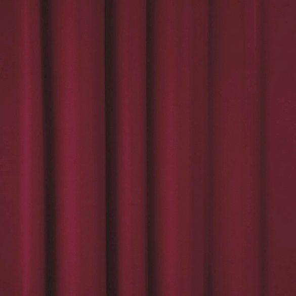 Dimout sötétítőfüggöny, 280 cm magas, bordó - maradék darab: 1,5 m