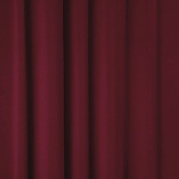 Dimout sötétítőfüggöny, 280 cm magas, bordó