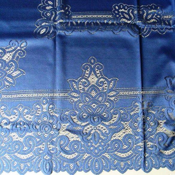 Jacquard csipke terítő, kék - 150 x 180 cm