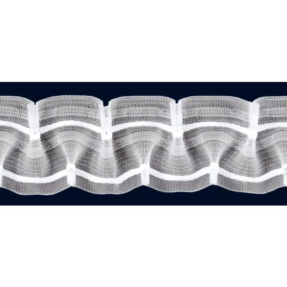Sínszalag, függönyráncoló, ypszilon, 1:2, 50 mm széles