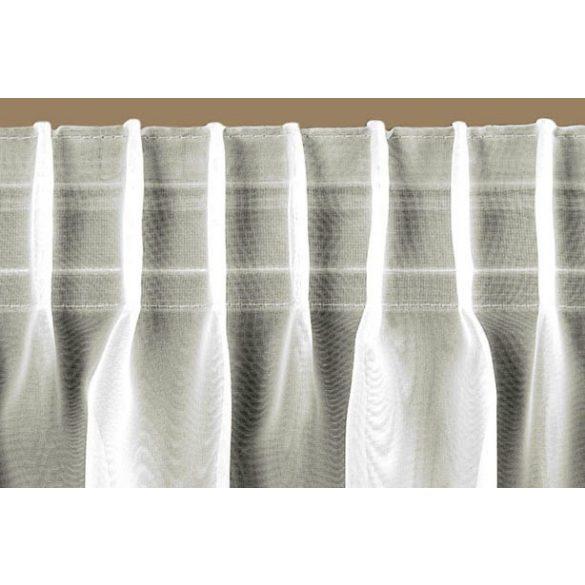 Sínszalag, átlátszó függönyráncoló, ceruzás 1:1,5, 50 mm széles