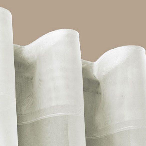 Függönyráncoló, GOLF VARIO 90 mm, rúdra húzható, átlátszó - maradék darabok