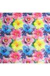 ANEMONA, szellőrózsa, virágmintás lakástextil dekorvászon