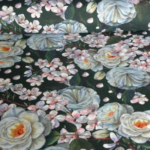 BLOSSOM, virágmintás lakástextil dekorvászon