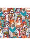 DOG TEAM, kutyás lakástextil, dekorvászon
