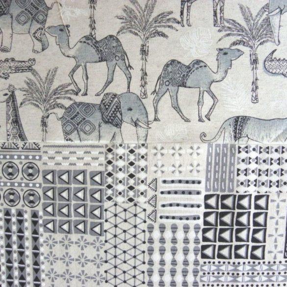 Naturales Jungle, állatmintás lakástextil, dekorvászon