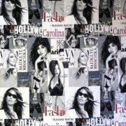 Hollywood, girls mintás, prémium minőségű spanyol lakástextil