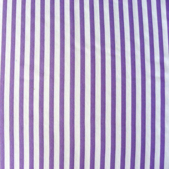 KIDDY lila csíkos lakástextil