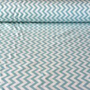 KIDDY menta cikkcakk mintás lakástextil, dekorvászon