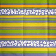AGAVE, agavészürke csíkos, virágos, spanyol lakástextil