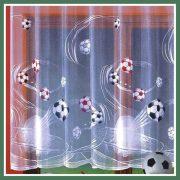 FOCI, focilabda mintás fényáteresztő jacquard függöny anyag