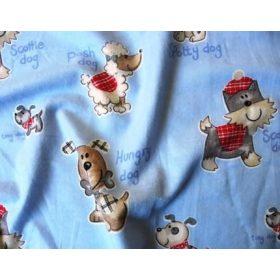 FLANEL textil anyagok