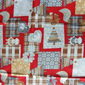 Karácsonyi mintás lakástextilek