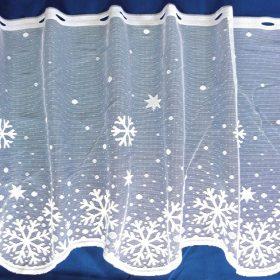 Karácsonyi, ünnepi mintás függönyök