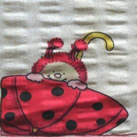 Gyerekmintás krepp méteráru