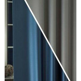 Doublé, kétoldalas sötétítő függöny anyagok
