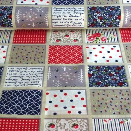 PATCHWORK textil anyagok